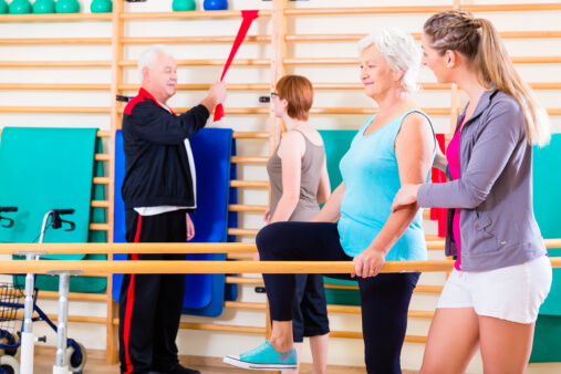 Physical Therapy How Can It Help Elderly People